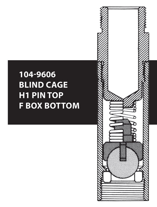 104-9606 BLIND CAGE