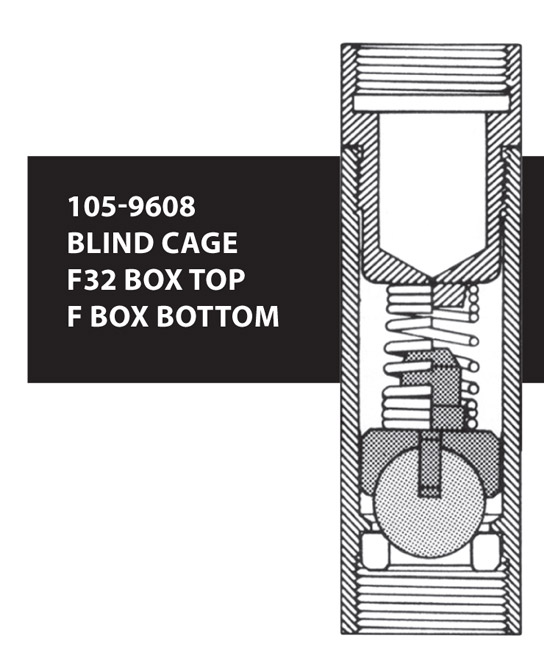 105-9608 BLIND CAGE