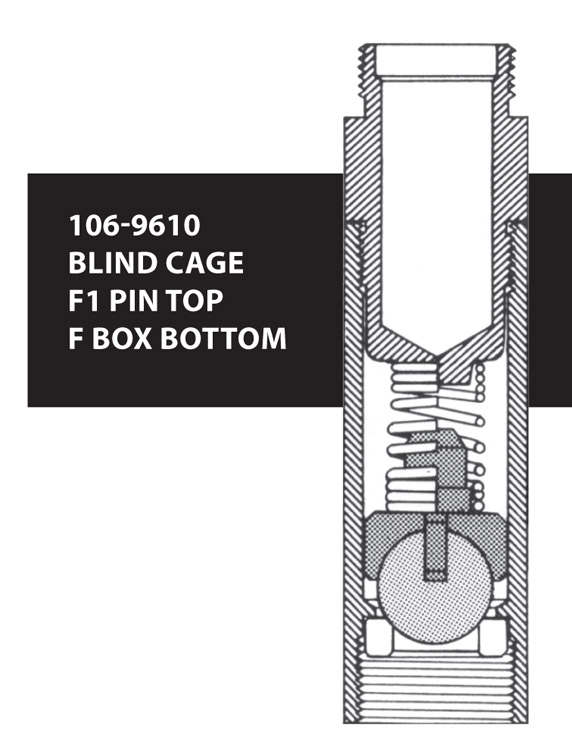 106-9610 BLIND CAGE