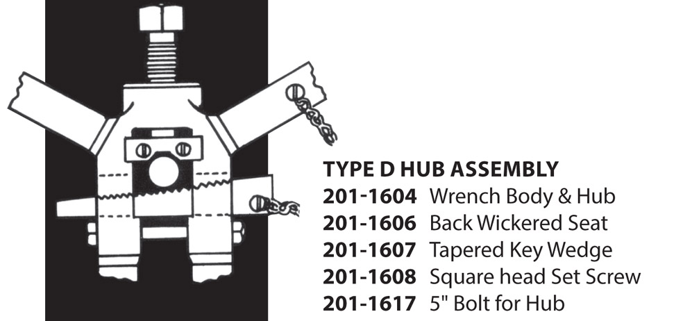TYPE D HUB ASSEMBLY